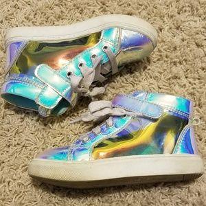 Girls' high top sneakers!